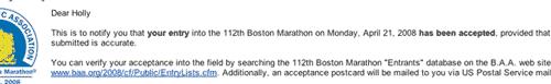 boston acceptance